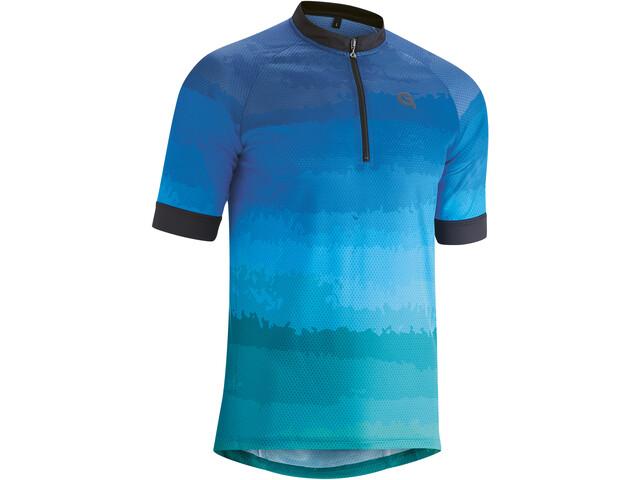 Gonso Pilone Half-Zip SS Bike Jersey Men, azul